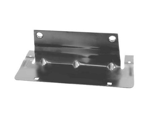 Ford Mustang Front License Plate Bracket - For Urethane Bumper