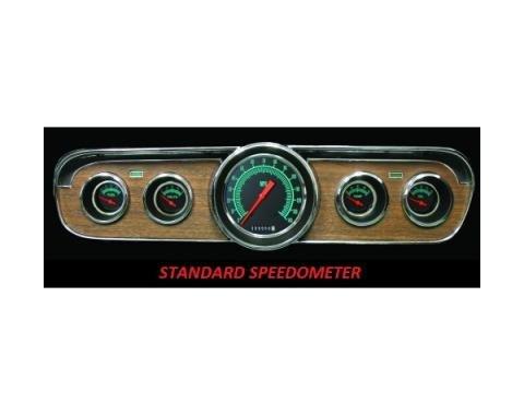 Mustang Classic Instruments® 5-Gauge Set, G-Stock, 1964-1966