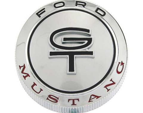 Ford Mustang Gas Cap - Chrome - For Mustang GT