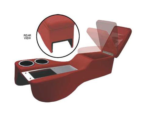 Ford Mustang Saddle Cruiser Console - Coupe & Fastback & Convertible - Dark Red