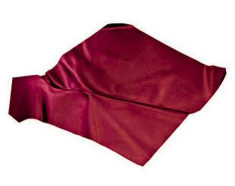 Ford Mustang Quarter Trim Panels - Dark Red (Maroon) - Coupe
