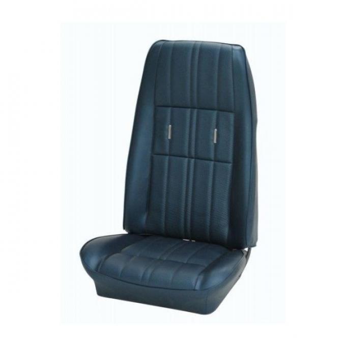 Coupe, Full Set W/Bkt Seats, Dlx, Cmftwv, Blk 1971