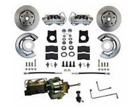 Mustang Power Disc Brake Conversion with Auto Trans 1964-66