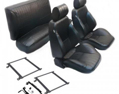 Ford Mustang - Procar Seat Kit, Fastback, 1965-1967