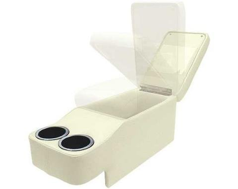 Ford Mustang Saddle Console - Coupe & Fastback & Convertible - White