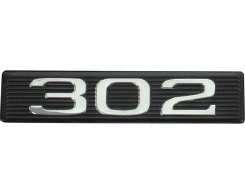 Daniel Carpenter Hood Scoop Emblem Number Plate / 302 C9ZZ-16637-302-P