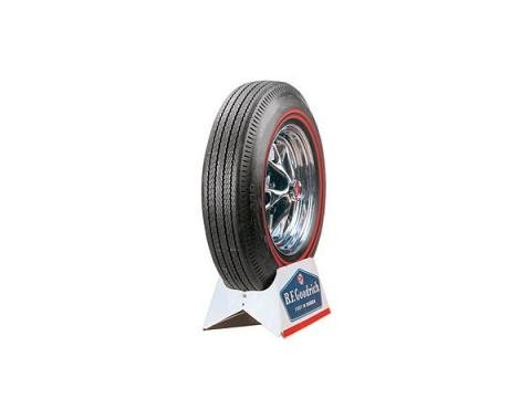 Tire - 695 x 14 - Dual 3/8 Red Line - BF Goodrich