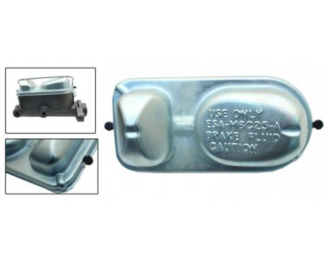 """1964-1969 Mustang Ford Style """"Teardrop"""" Master Cylinder Lid, Disc/Drum"""