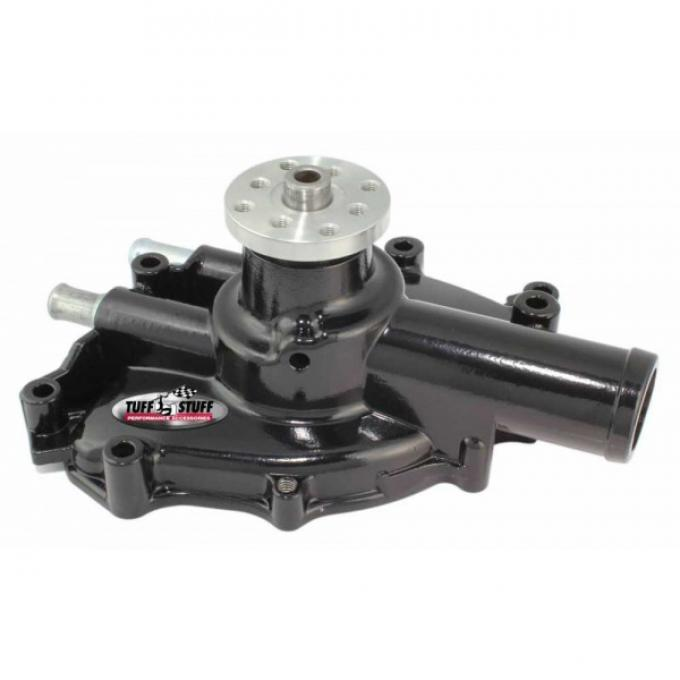 Ford Mustang - Supercool Platinum Shorty Water Pump, 5.0L & 302, Stealth Black, 1979-1985