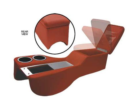 Ford Mustang Humphugger Cruiser Console - Coupe & Fastback - Maroon