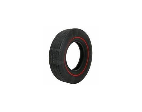 Tire - E70 x 14 - 3/8 Red Line - Firestone Wide Oval