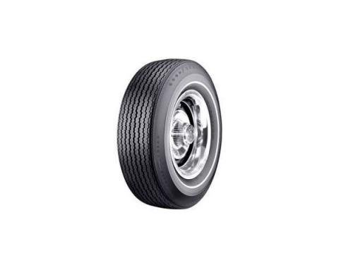 Tire - F70 x 14 - .350 Whitewall - Goodyear Speedway Wide Tread