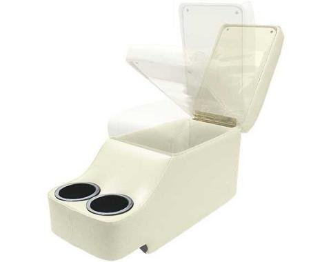 Ford Mustang Humphugger Console - Coupe & Fastback - White