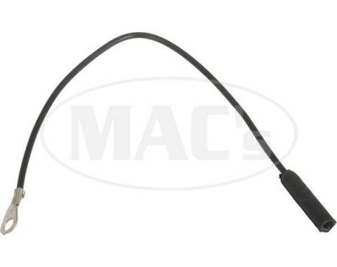 Ford Mustang Fog Light Ground Wire - Black