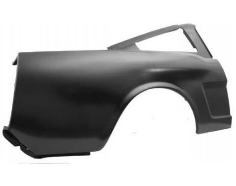 Ford Mustang Quarter Panel - 1 Piece Design - Right - Fastback