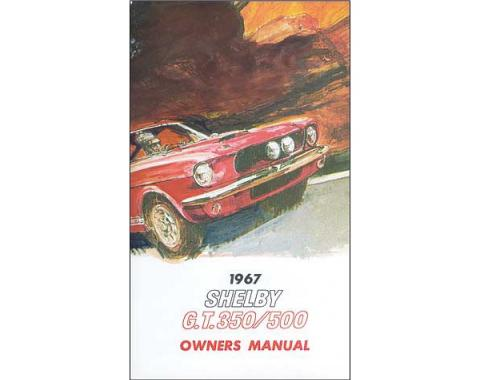 Ford Mustang Shelby Owner's Manual - 64 Pages