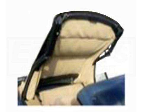 ACME Auto Headlining 2005-2014 Ford Mustang Convertible Headliner ACH64F-0569V | Black Ink