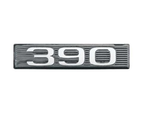 Daniel Carpenter Ford Mustang Hood Scoop Number Plate - 390 C9ZZ-16637-390-P