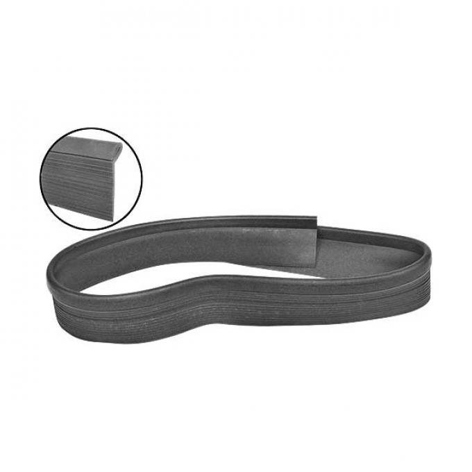 Daniel Carpenter Seal - Radiator Support To Hood - Black Rubber C4DZ-16238