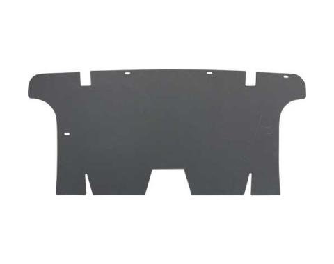 Ford Mustang Rear Seat & Trunk Divider - Chipboard - Original Style - Convertible