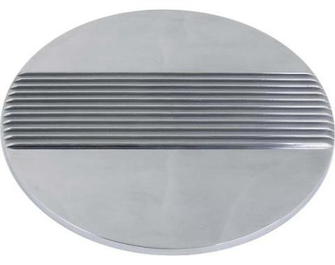 Ford Mustang Cal Custom Air Cleaner Lid - Finned Aluminum -14 Diameter