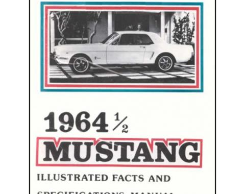 Mustang Illustrated Facts And Specifications Manual - 24 Pages