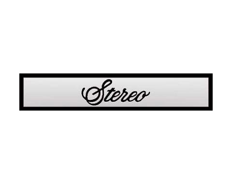 Ford Mustang Decal - Stereo Door Speaker