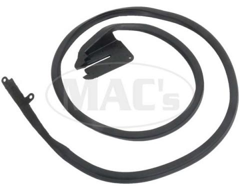 Ford Weatherstrip Door Seal,Passenger Side, 1969-1970