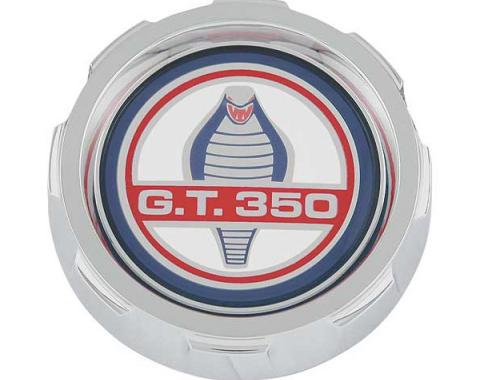 Ford Mustang Gas Cap - Chrome - Shelby GT350