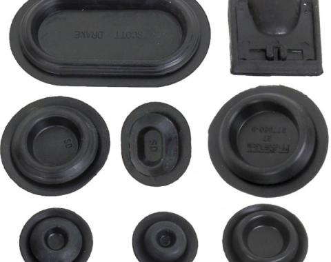 Ford Mustang Rubber Grommet Kit - 39 Pieces