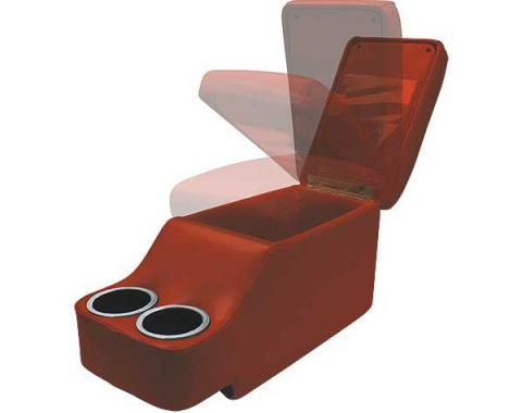 Ford Mustang Humphugger Console - Coupe & Fastback - Maroon