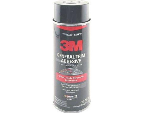 Vinyl, Trim, and Upholstery Adhesive, 3M Brand, 18.1 Oz. Spray Can
