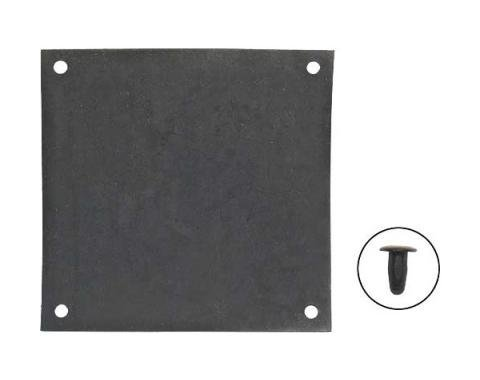 Daniel Carpenter Ford Mustang Battery Terminal Shield - EPDM Rubber C6ZZ-10760