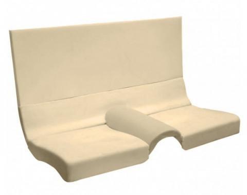 Mustang Seat Foam  Fastback Rear Seat Set (5 pieces as OE)