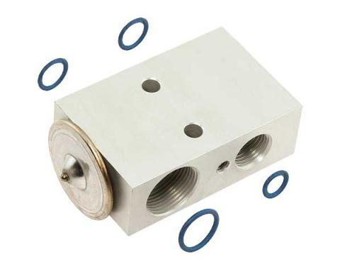 Ford Mustang Air Conditioner Expansion Valve - For Factory Air Conditioning - Aftermarket Replacement
