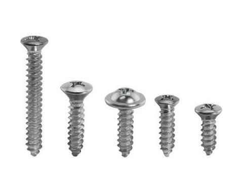 Ford Mustang Interior Screw Kit - 73 Pieces - Fastback