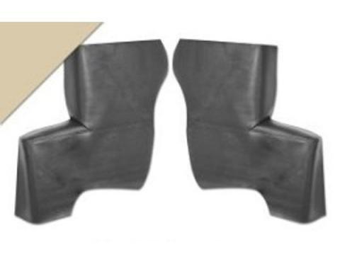Ford Mustang Quarter Trim Panels - Parchment - Convertible