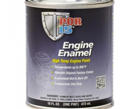 POR-15®  Engine Enamel Paint, Pint, Assorted Colors