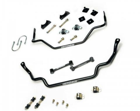 Mustang Hotchkis Front & Rear Sway Bar Kit, 1967-1970