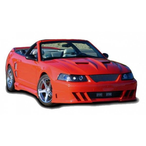Ford Mustang Demon Style 1 Pc Poly Front Bumper 1999-04