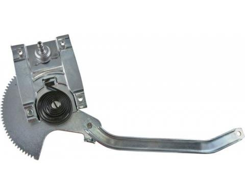 Ford Mustang Manual Door Window Regulator - Right - From 3-8-1965