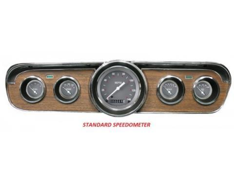 Mustang Classic Instruments® 5-Gauge Set, SG Series, 1964-1966