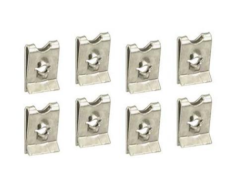 Ford Mustang Headlight Door Retainer Clip Set - 8 Pieces