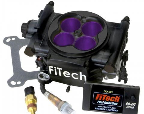 FiTech MeanStreet Fuel Injection 800 HP Kit, Matte Black
