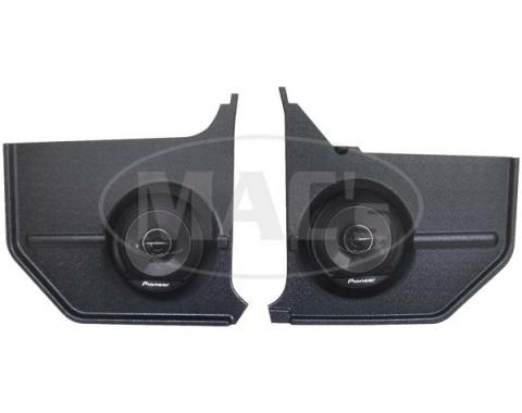 Ford Mustang Kick Panel Radio Speakers - Pioneer - 6-1/2 Co-Axial - Convertible