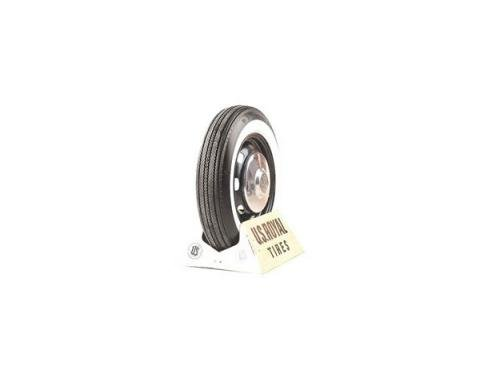 Tire - 695 x 14 - 5/8 Whitewall - US Royal