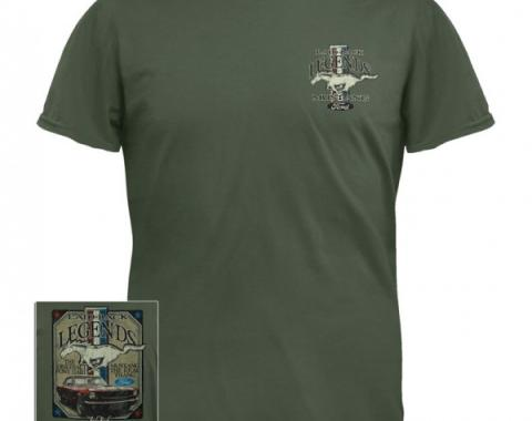 "Ford Mustang ""The Original Pony Car"" T-Shirt, Sage"