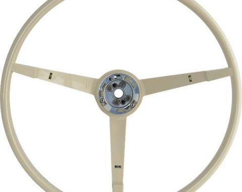 Ford Mustang Steering Wheel - 3 Spoke - White - For Car With An Alternator