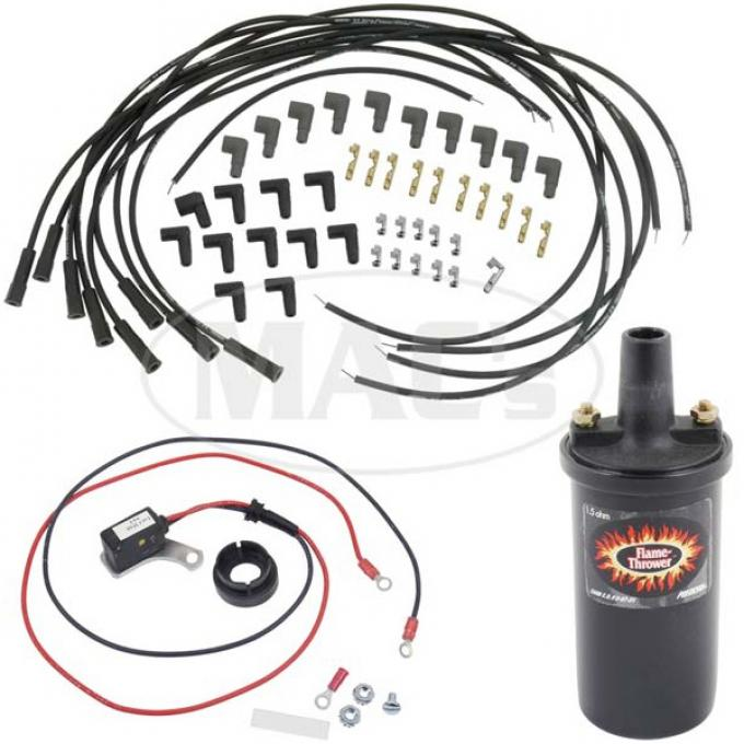 Ignitor Ignition Kit-Black Coil