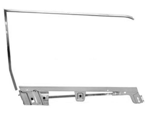 Door Glass Frame Kit / Right / Convertible